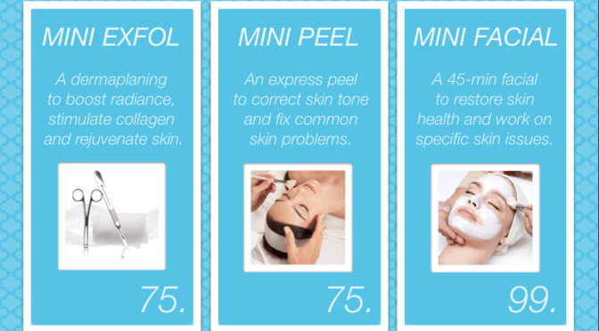 Save TIME & MONEY with our Mini-Treatments!