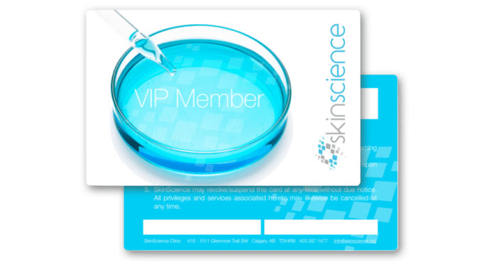 Become a VIP Member at SkinScience!