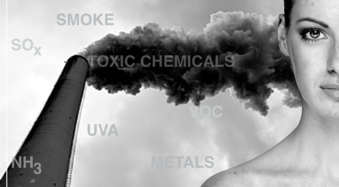 Ask The Scientist ~ How Does Atmospheric Pollution Impact My Skin?