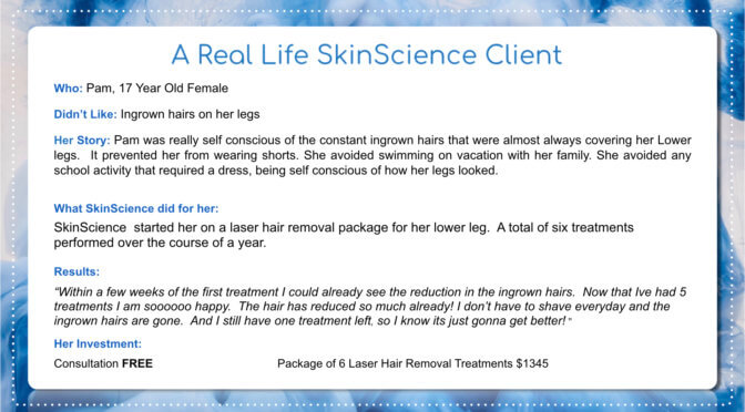 Real Life SkinScience Story – Pam