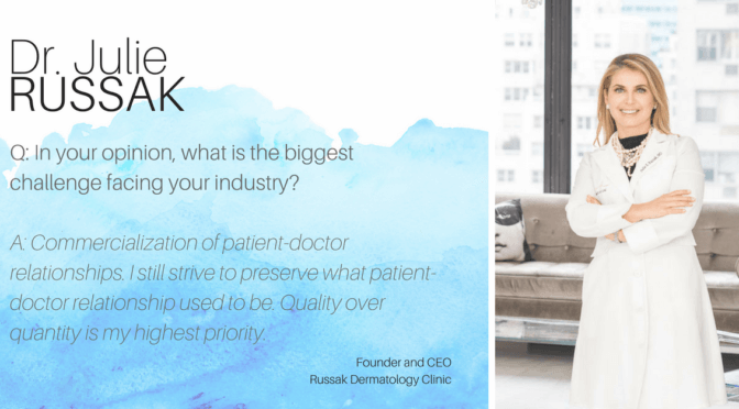 Dr. Julie Russak, MD Answers Marie's 23 Questions