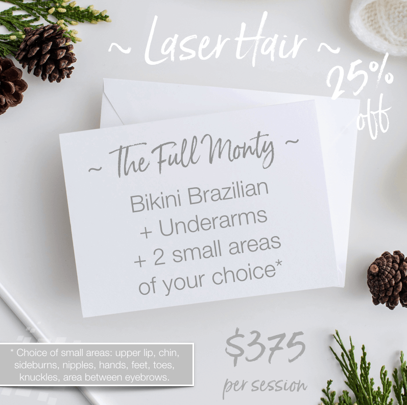 Laser Hair Removal Christmas Deal