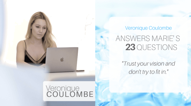 Changing The Face of Skin Care ~ An Interview with Veronique Coulombe, CEO of Medical Blossom.