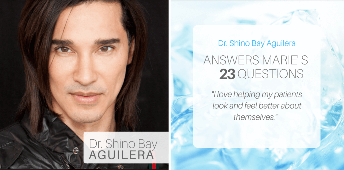 Changing the Face of Skin Care ~ An Interview with Dr. Shino Bay Aguilera, aesthetic dermatologist + spiritual advisor